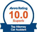 Car Accidents - avvo badge