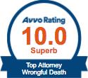 Wrongful Death - avvo badge